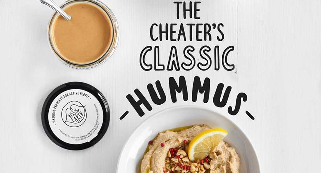 Kiss the Earth - The Cheater's Classic Hummus