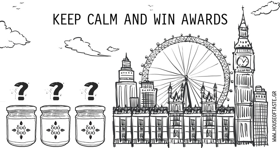 Keep calm and win awards