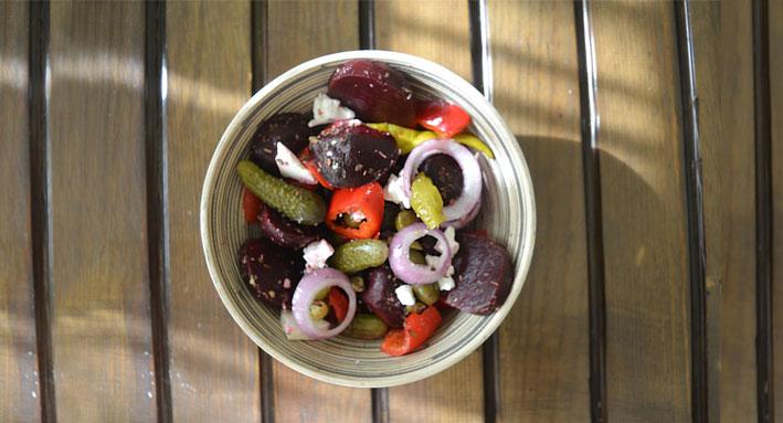 Χωριάτικη σαλάτα : Winter edition